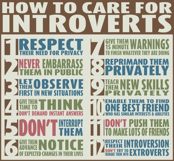 how-to-care Introverts