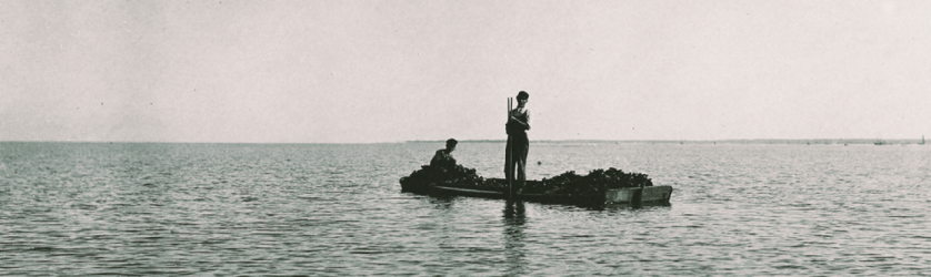 man afloat