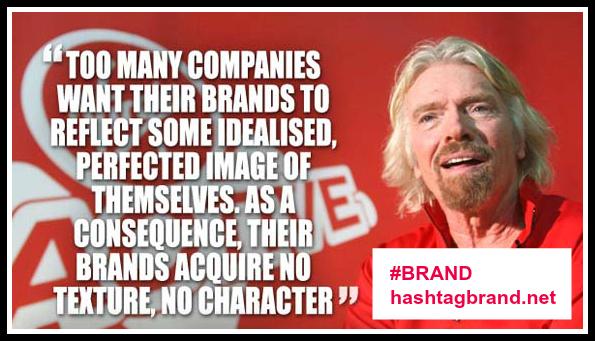 Richard Branson Quote on Brand #BRAND